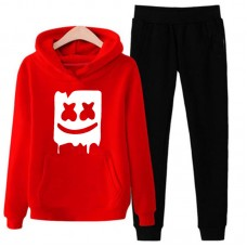 Marshmellow Red Tracksuit For Women's