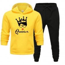 Queen Exported Quality Yellow Tracksuit For Women