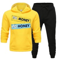 No Money No Honey Yellow Tracksuit For Women