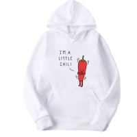 I'm a Little Chili White Hoodie For Women