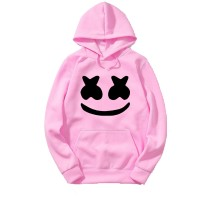 Marshmellow Pink Hoodie For Women's