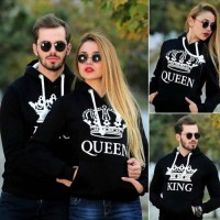 Bundle of 2 High-Quality Couple Hoodie