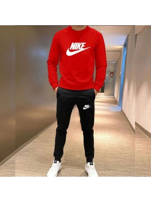 Nike Red Winter Tracksuit For Boys
